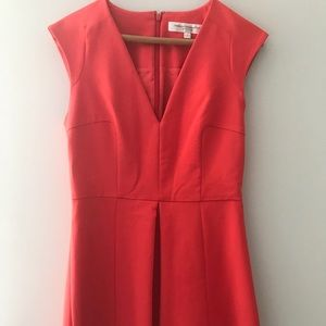 Cute Red French Connection Dress. Size 6 Us/10